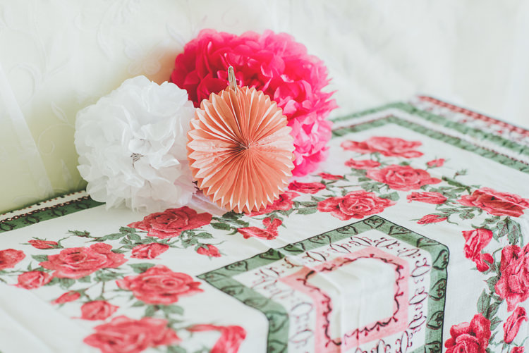 Pom Poms Pinwheels Eclectic Quirky DIY Vintage Wedding https://www.georgimabee.com/