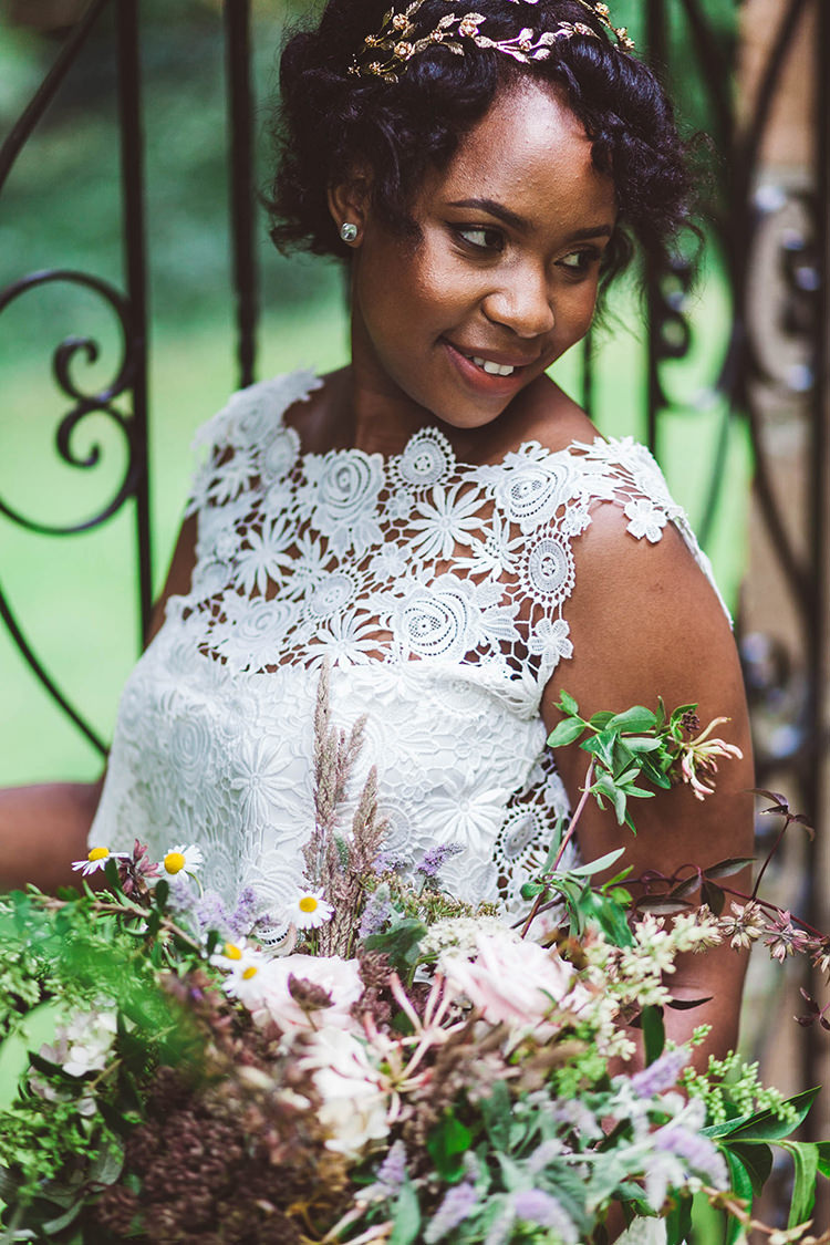 Bride Bridal Make Up Beauty Pretty Beautiful Walled Garden Wedding Ideas http://www.brittamarie-photography.com/