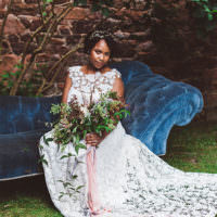 Beautiful Walled Garden Wedding Ideas http://www.brittamarie-photography.com/