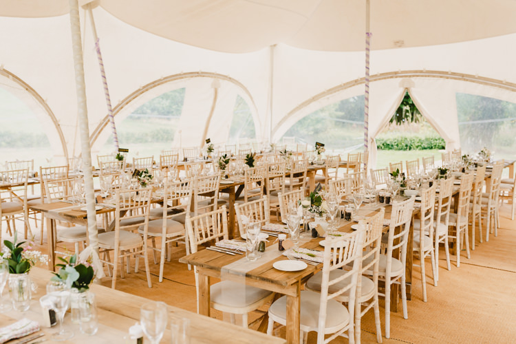 Tent Marquee Long Tables Rustic Hand Crafted Relaxed Wedding http://www.andydavison.com/