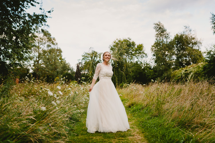 BHLDN Dress Gown Bride Bridal Tulle Lace Sleeves Boho Rustic Hand Crafted Relaxed Wedding http://www.andydavison.com/