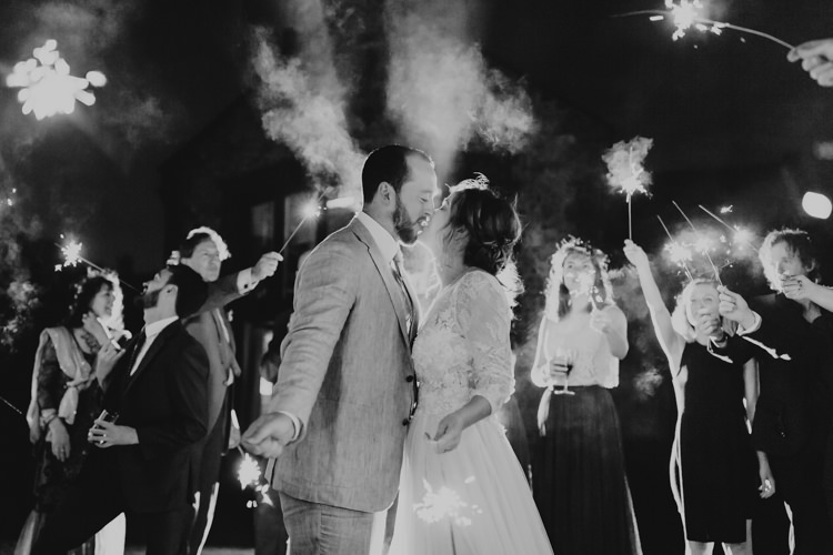 Sparklers Evening Bride Groom Rustic Hand Crafted Relaxed Wedding http://www.andydavison.com/