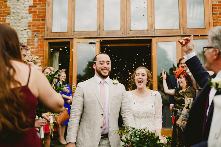 Confetti Throw Rustic Hand Crafted Relaxed Wedding http://www.andydavison.com/