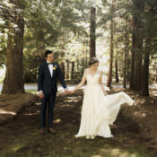 Whimsical Forest Harry Potter Wedding