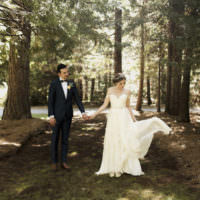 Whimsical Forest Harry Potter Wedding http://heatherelizabethphotography.com/
