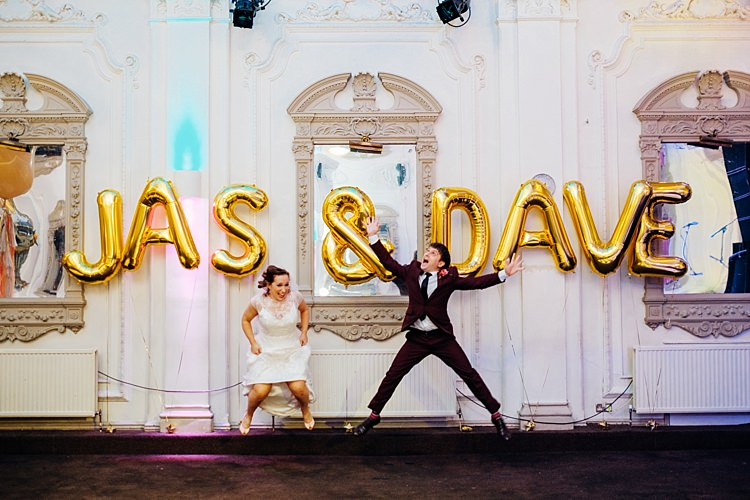Giant Letter Balloons Quirky Cool City Party Wedding http://www.mariannechua.com/