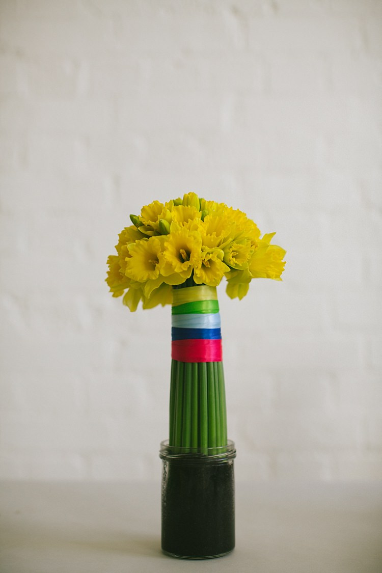 Diy Daffodil Spring Topiary Table Centrepiece Whimsical