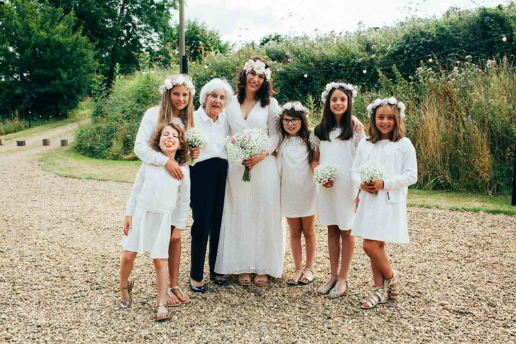Flower Girls Indie Outdoorsy Camp Wedding http://emilytylerphotography.com/
