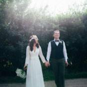Indie Outdoorsy Camp Wedding