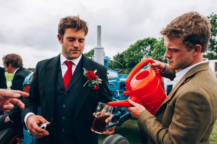 Hand Made Red White Blue Farm Wedding http://www.caseyavenue.co.uk/