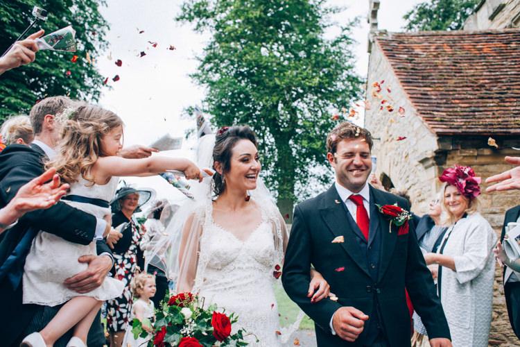 Confetti Throw Hand Made Red White Blue Farm Wedding http://www.caseyavenue.co.uk/