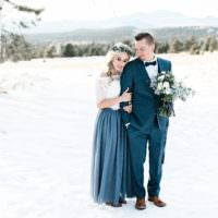 Snowy Winter Wonderland Anniversary Shoot http://ryannlindseyphotography.com/