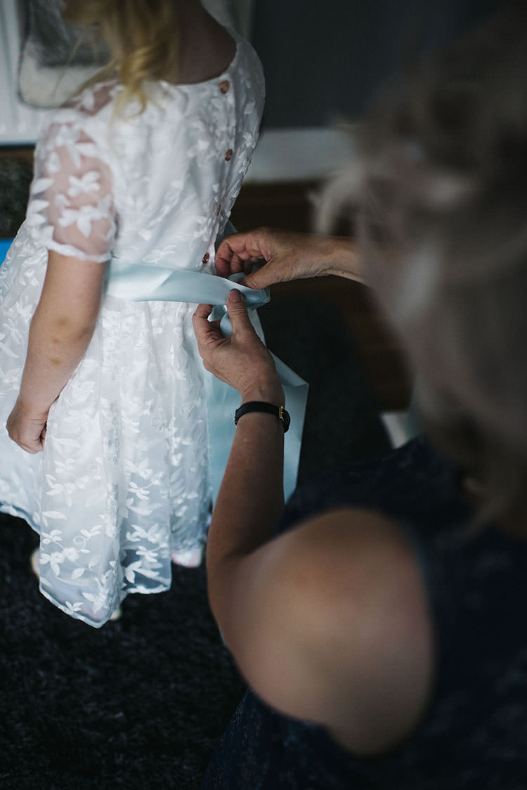 Flower Girl Dress Sash Mint Green Natural Wedding https://www.kerrywoodsphotography.com/