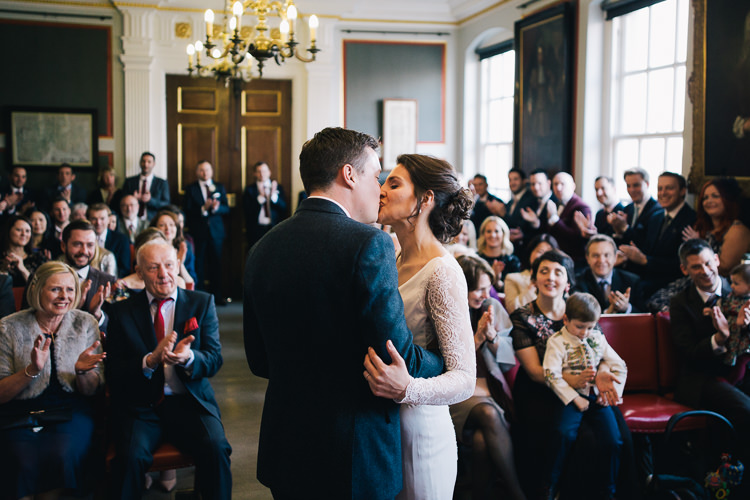 Rye Town Hall Ceremony Elegant Cosy Winter Wedding http://www.traversandbrown.co.uk/