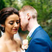 Elegant & Stylish Floral Filled Wedding