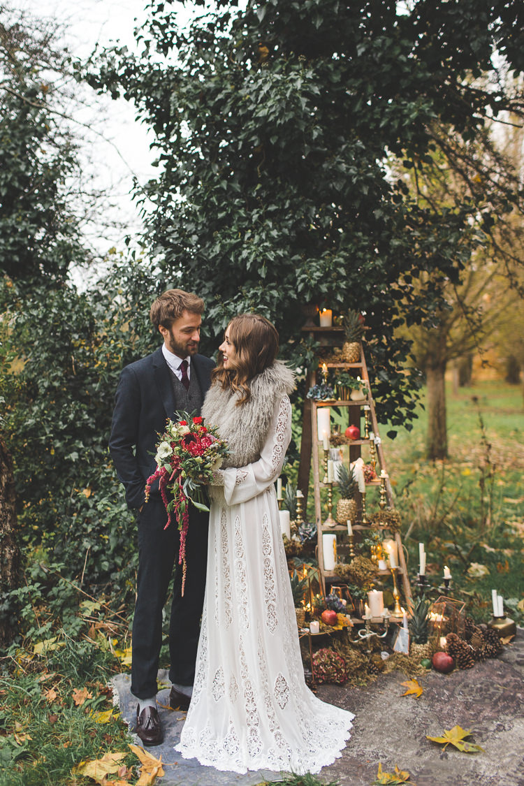 Magical Autumn Outdoorsy Woodland Wedding Ideas