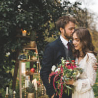 Magical Autumn Outdoorsy Woodland Wedding Ideas http://kirstymackenziephotography.co.uk/