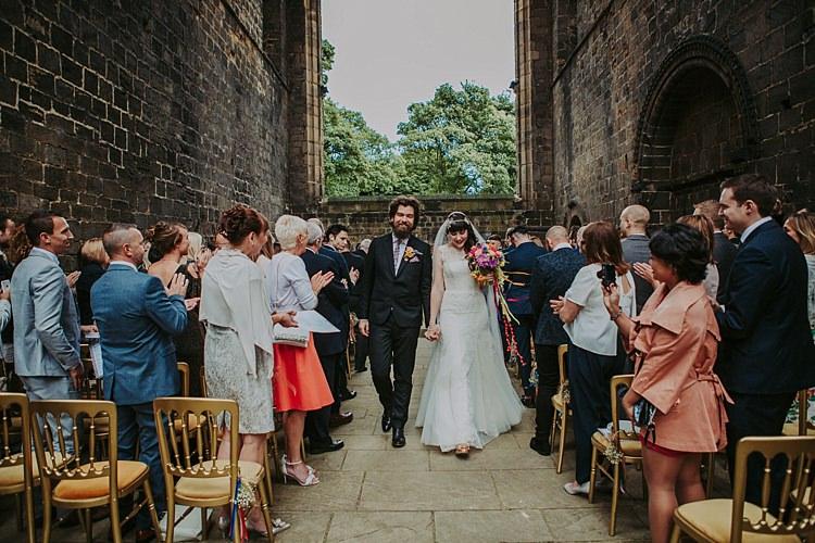 Colourful Indie Dinosaur Wedding http://bloomweddings.co.uk/