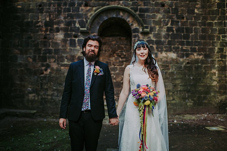 Colourful Indie Dinosaur Wedding http://bloomweddings.co.uk/