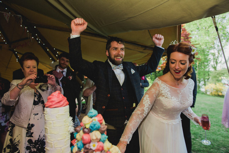 Multicoloured Crafty Carnival Wedding http://alicethecamera.co.uk/