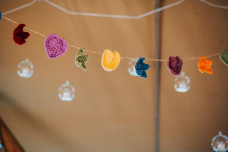Crochet Bunting Multicoloured Crafty Carnival Wedding http://alicethecamera.co.uk/