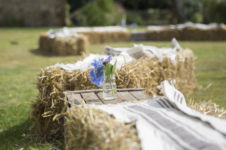 Hay Bales Seating Boho Country Tipi Wedding http://www.gabriellemcmillan.com/