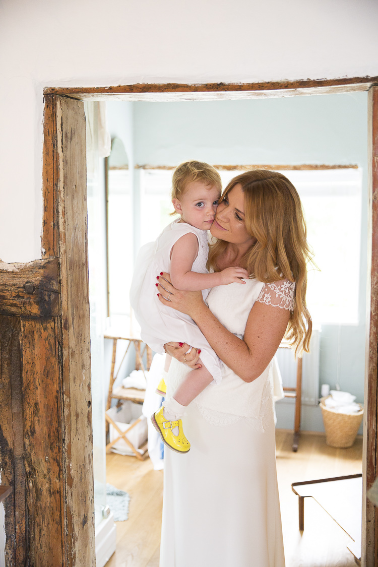 Flower Girl Mother Daughter Bride Boho Country Tipi Wedding http://www.gabriellemcmillan.com/