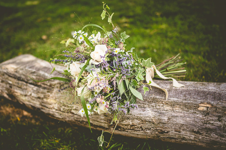 Wild Natural Bouquet Flowers Bride Bridal Hessian Rustic Bohemian DIY Barn Wedding http://lovethatsmilephotography.com/