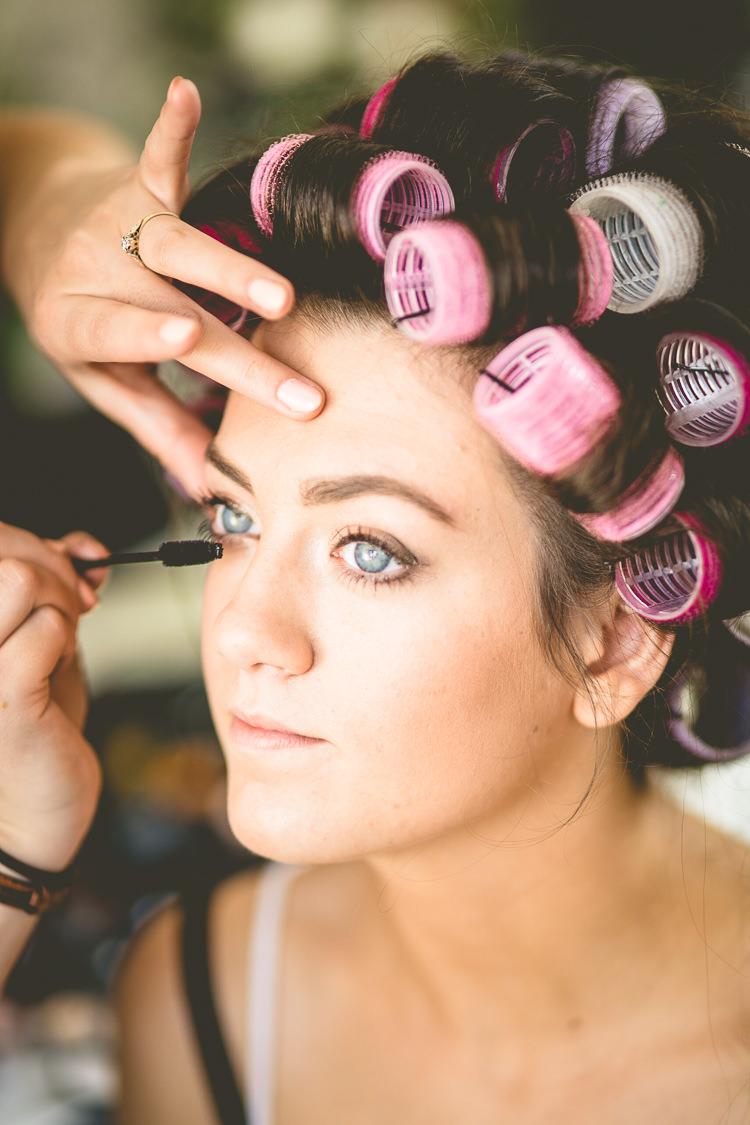 Make Up Bride Bridal Rustic Bohemian DIY Barn Wedding http://lovethatsmilephotography.com/