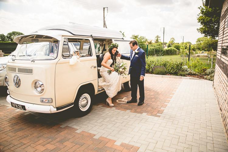 VW Camper Van Rustic Bohemian DIY Barn Wedding http://lovethatsmilephotography.com/