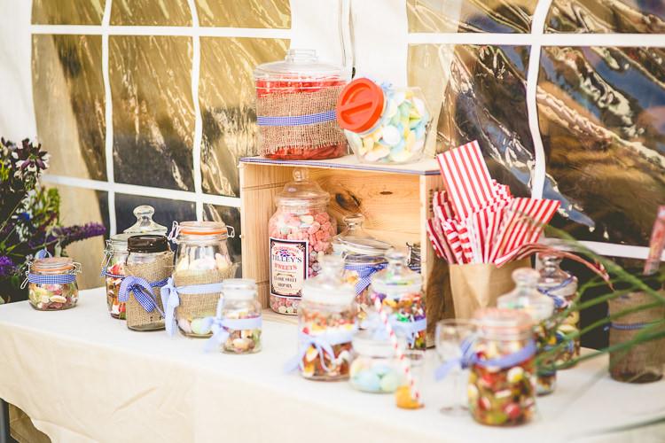 Sweet Sweetie Table Rustic Bohemian DIY Barn Wedding http://lovethatsmilephotography.com/