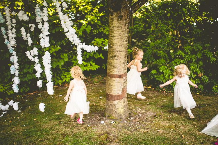 Flower Girls Rustic Bohemian DIY Barn Wedding http://lovethatsmilephotography.com/