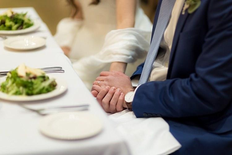 Reception Bride Groom Holding Hands Romantic Mountain Wedding Colorado http://irvingphotographydenver.com/