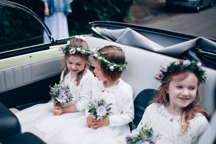 Flower Girls Crowns Dresses Pretty Quintessential English Country Garden Wedding http://blondiephotography.co.uk/