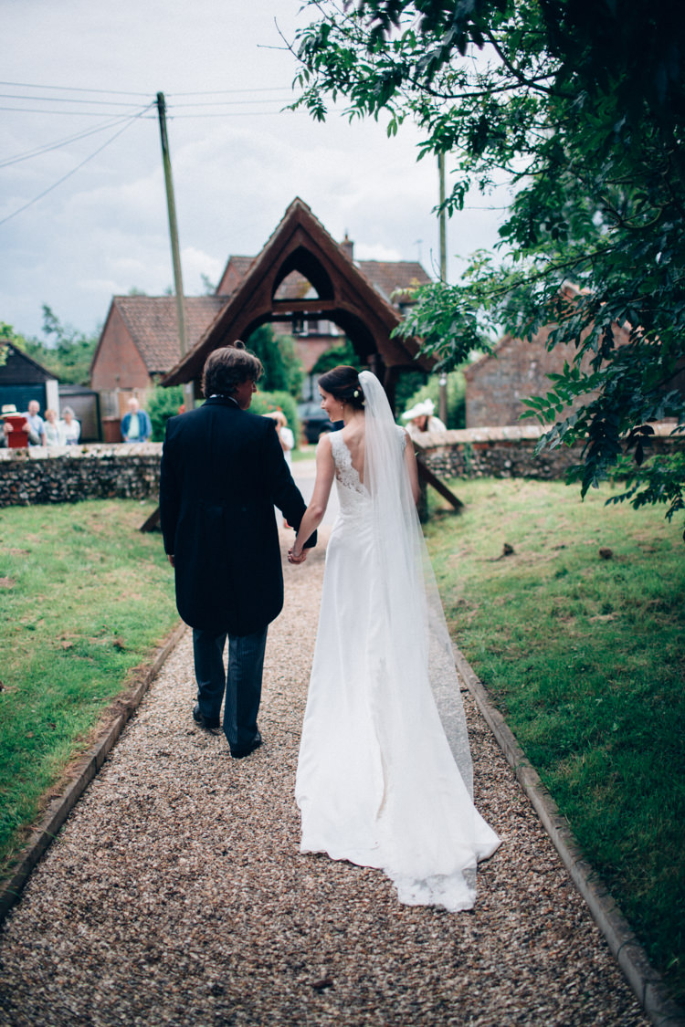 Cathedral Veil Bride Bridal Pretty Quintessential English Country Garden Wedding http://blondiephotography.co.uk/