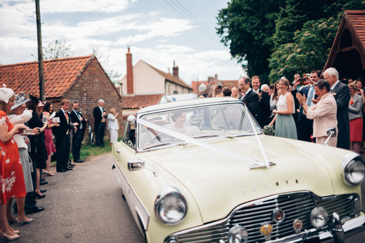 Classic Car Convertable Pretty Quintessential English Country Garden Wedding http://blondiephotography.co.uk/