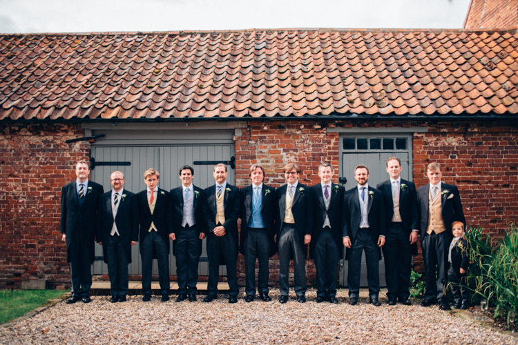 Traditional Groomsmen Pretty Quintessential English Country Garden Wedding http://blondiephotography.co.uk/