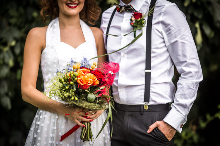 Colourful Vintage Comic Book Wedding Ideas http://www.hayleypettitphotography.com/