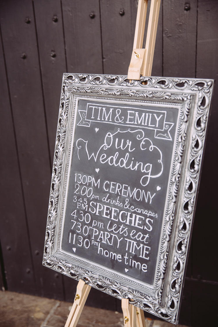 Black Board Chalk Sign Welcome Magical Winter Rustic Wonderland Wedding http://hayleybaxterphotography.com/