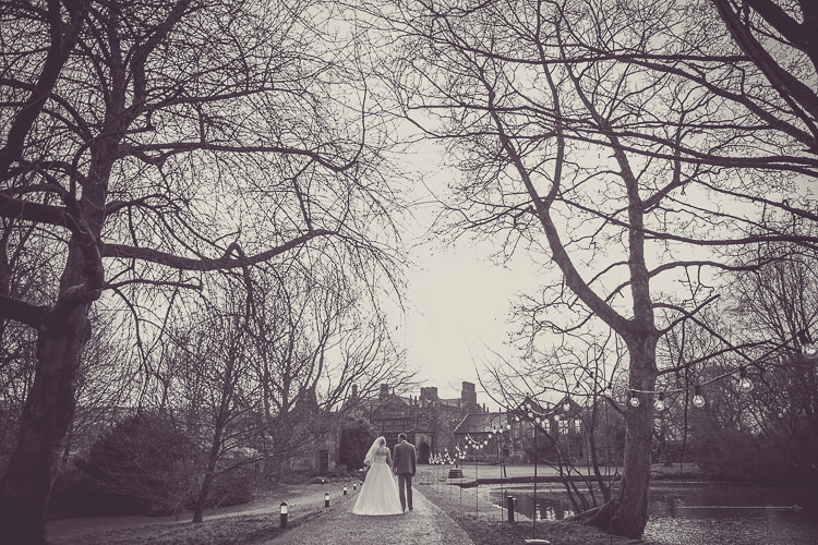 East Riddlesden Hall Yorkshire Magical Winter Rustic Wonderland Wedding http://hayleybaxterphotography.com/