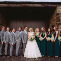 Magical Winter Rustic Wonderland Wedding http://hayleybaxterphotography.com/
