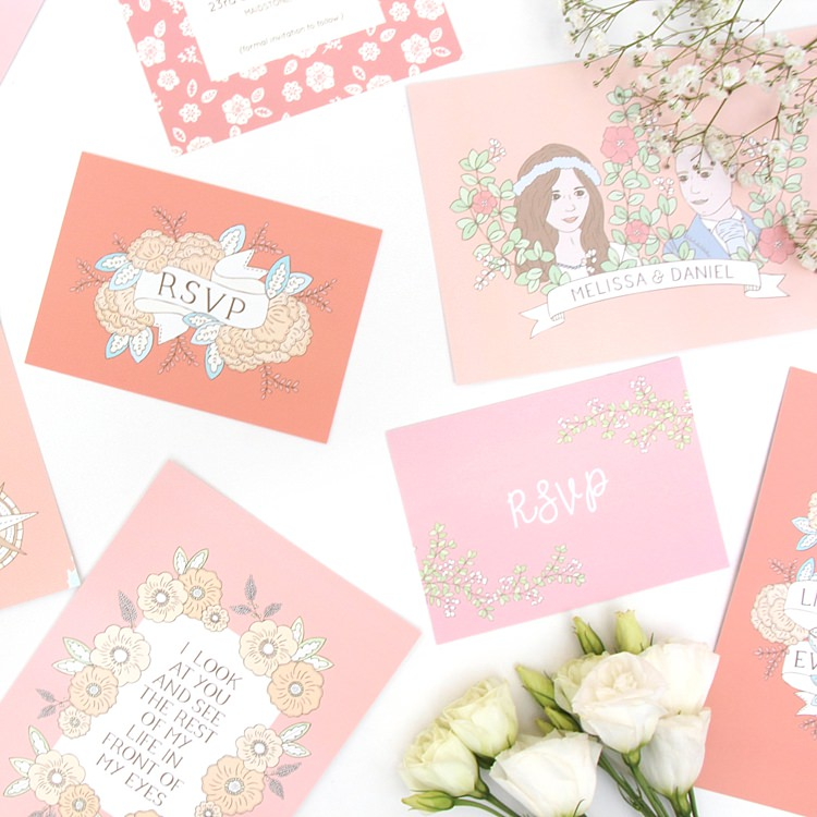 Bea & Bloom Stationery Wedding UK Supplier Directory Blog Wedding