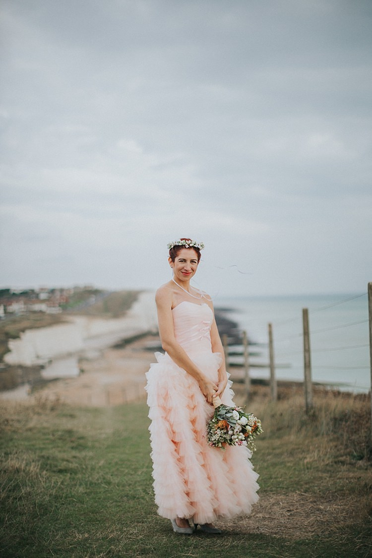 Whimsical Seaside Wedding & a Pale Pink Dress | Whimsical Wonderland ...