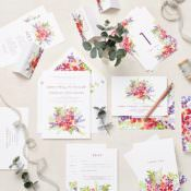 Floral Wedding Picks From Etsy