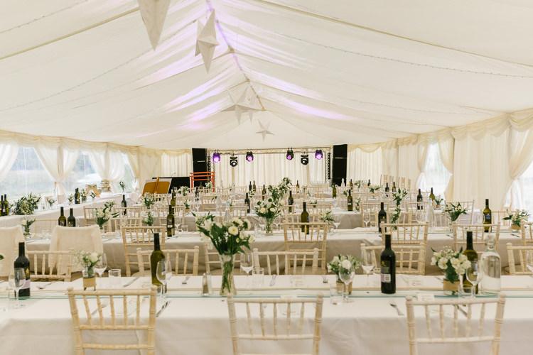 Marquee Star Lanterns Natural Sage Green Farm Wedding https://www.loveluella.co.uk/
