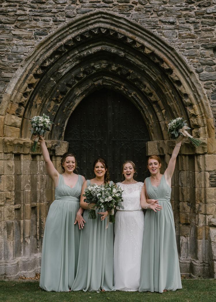 Long Bridesmaid Dresses Natural Sage Green Farm Wedding https://www.loveluella.co.uk/