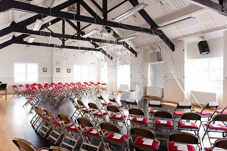 Playhouse Theatre Derry Ceremony Modern Geometric Theatre Monochrome Wedding http://www.babbphoto.com/