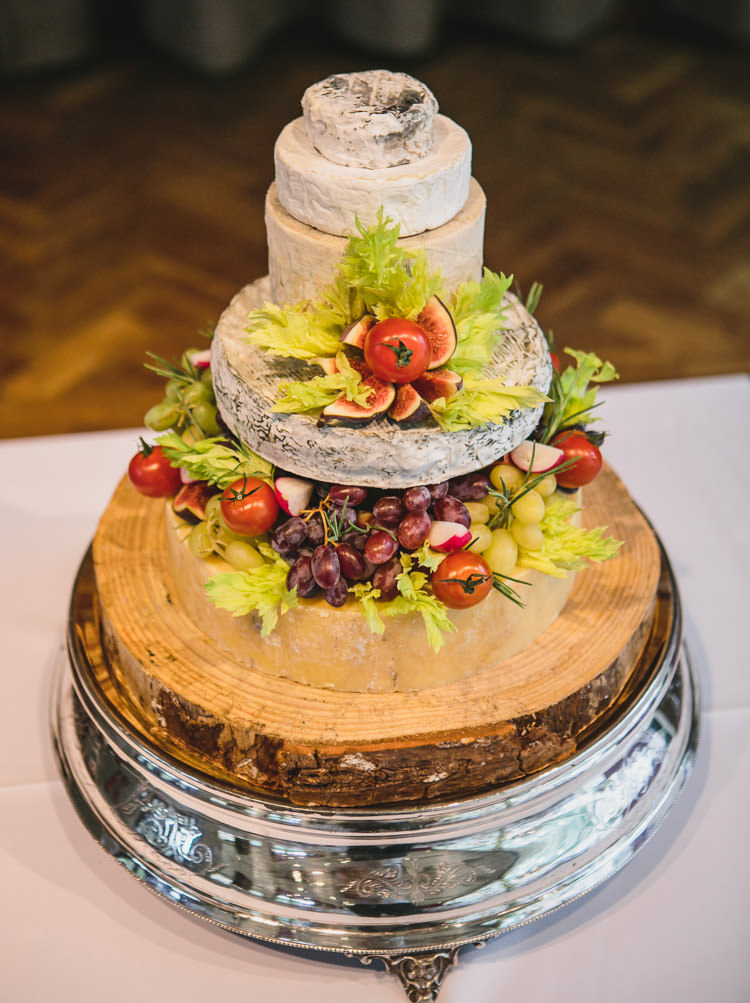 Cheese Cake Tiered Relaxed Cosy Stylish Autumnal Wedding http://www.tierneyphotography.co.uk/