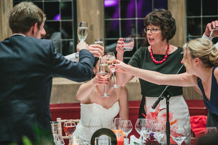 Toast Thornbridge Hall Relaxed Cosy Stylish Autumnal Wedding http://www.tierneyphotography.co.uk/