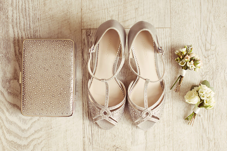 Sparkly Peep Toe Clutch Bag Shoes Accessories Bride Bridal Elegant Romantic Classic Pink Wedding http://www.rebeccaweddingphotography.co.uk/